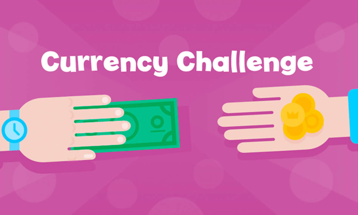 Interactive activity for Money from around the world