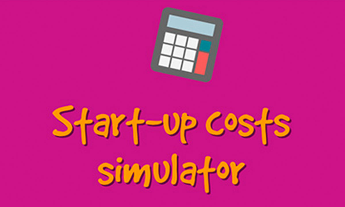 Start-up costs simulator