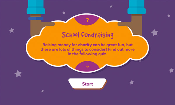School fundraising interactive
