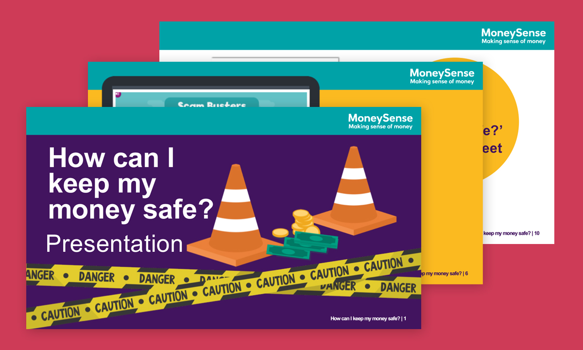 Presentation for How can I keep my money safe?