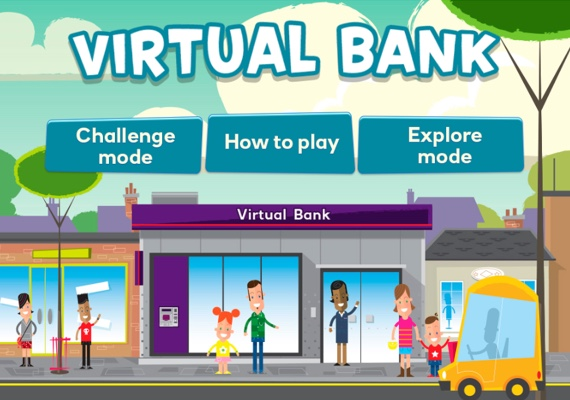 Explore the Virtual Bank with your child