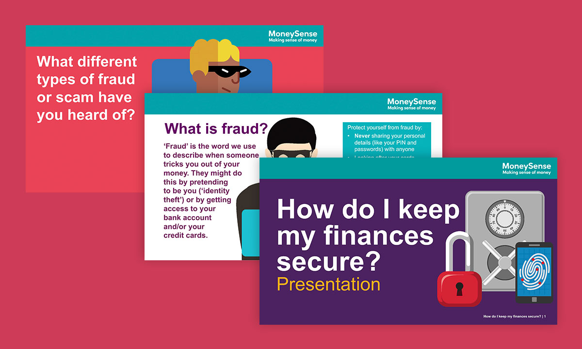 Presentation for How do I keep my finances secure?