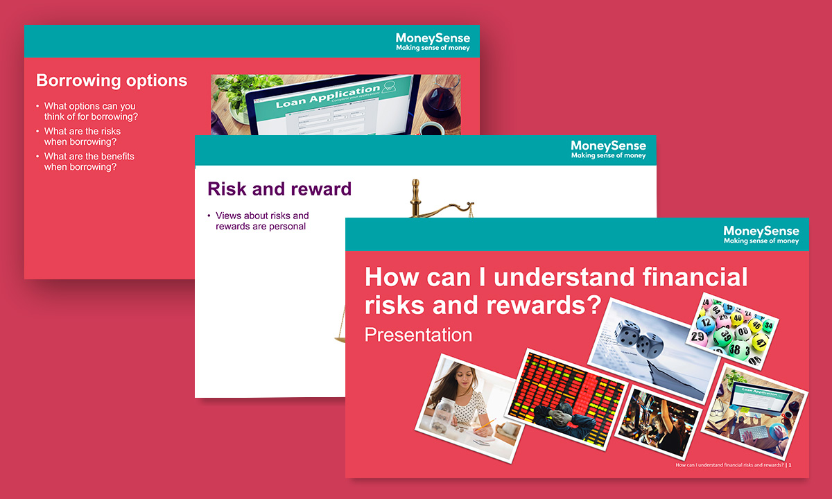 Presentation for How can I understand financial risks and rewards?