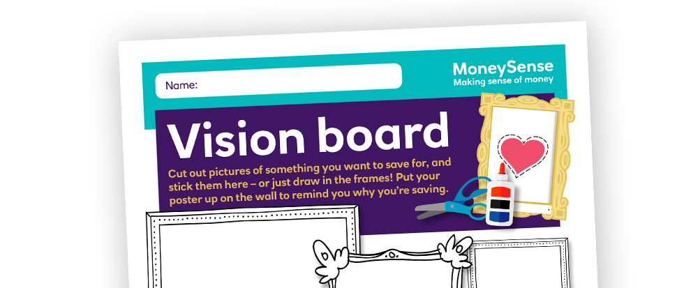 Vision board poster