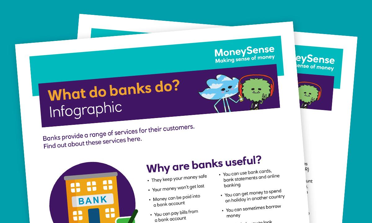 Topic 2 – How can I use a bank account? | Teachers | MoneySense