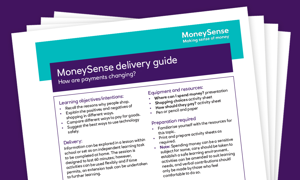 Delivery guide for How are payments changing?